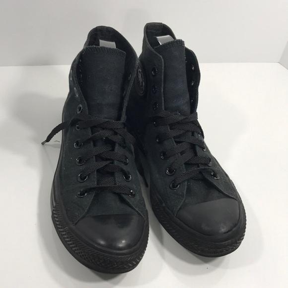 black lace converse